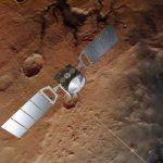 Mars Express detecta agua líquida bajo el polo sur de Marte