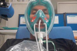 máscara, snorkel, decathlon, covid19, coronavirus, safran
