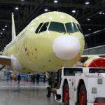 Irkut completa la construcción del tercer MC-21-300 para pruebas