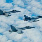 Mirage 2000-5 franceses y F-18M del Ejército del Aire se adiestran conjuntamente