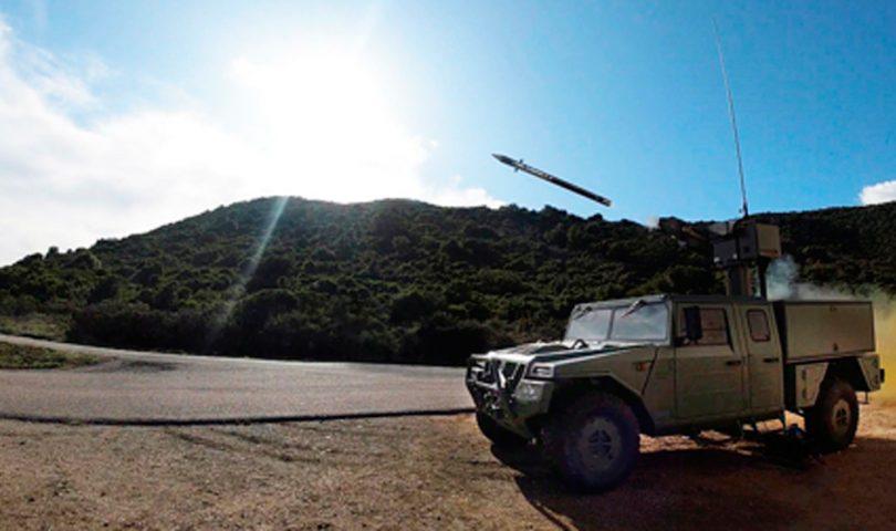 Mistral 3 de MBDA en URO VAMTAC