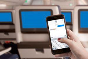 Delta comenzará a ofrecer mensajería móvil gratuita a bordo