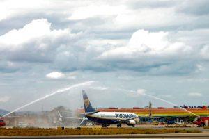 El Aeropuerto de Murcia-San Javier inaugura rutas a Bruselas y Leeds