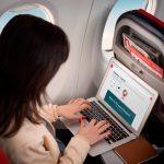 Norwegian introduce el wifi 'puerta a puerta' en sus vuelos