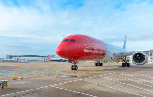 Norwegian transporta un 11% más de pasajeros en noviembre