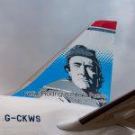 Norwegian recibe su segundo avión decorado con la imagen de Félix Rodríguez de la Fuente