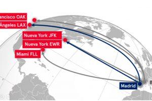 Norwegian unirá Madrid con Los Ángeles y Nueva York a partir del verano de 2018