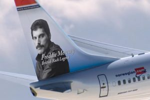 Norwegian homenajea a Freddie Mercury