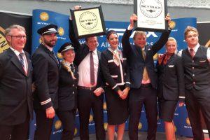 Norwegian reconocida nuevamente por Skytrax