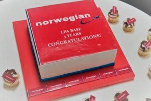 Norwegian celebra el quinto aniversario en su base de Gran Canaria