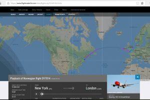 Norwegian bate el récord de vuelo transatlántico más rápido en avión subsónico
