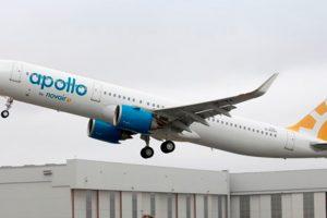 Novair recibe su primer A321neo