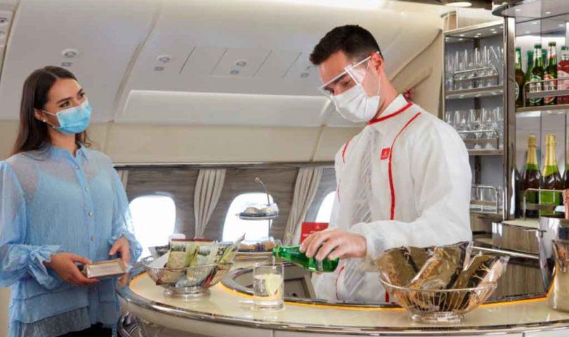 nboard lounge A380