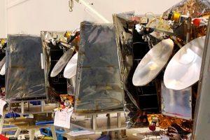 OneWeb Satellites ha enviado los primeros satélites para la constelación OneWeb a su punto de lanzamiento