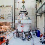 El primer viaje de la nave espacial Orión