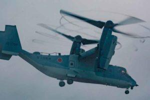 Osprey, V-22, Japón