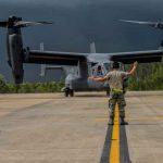 La USAF recibe el V-22 Osprey número 400