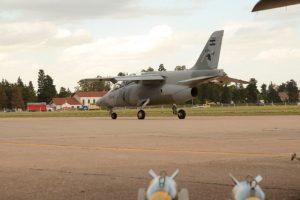 FAdeA presentó los 3 aviones Pampa III que entregará a la Fuerza Aérea Argentina