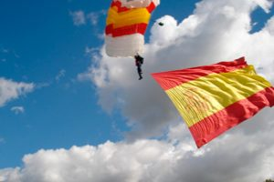 70º aniversario del primer salto militar paracaidista en España
