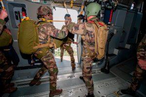 A400M, paracaidistas, Fuerzas Armadas Francesas