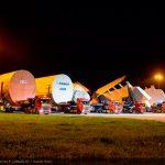 Las secciones principales para ensamblar el primer A380 de ANA llegan a Toulouse