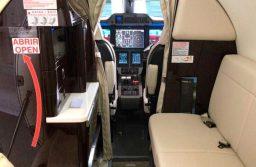 Embraer Services & Support completa la primera actualización del Phenom 300 con diván para dos personas
