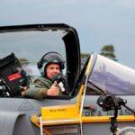 Primer vuelo de un piloto brasileño en un Gripen de la FAB