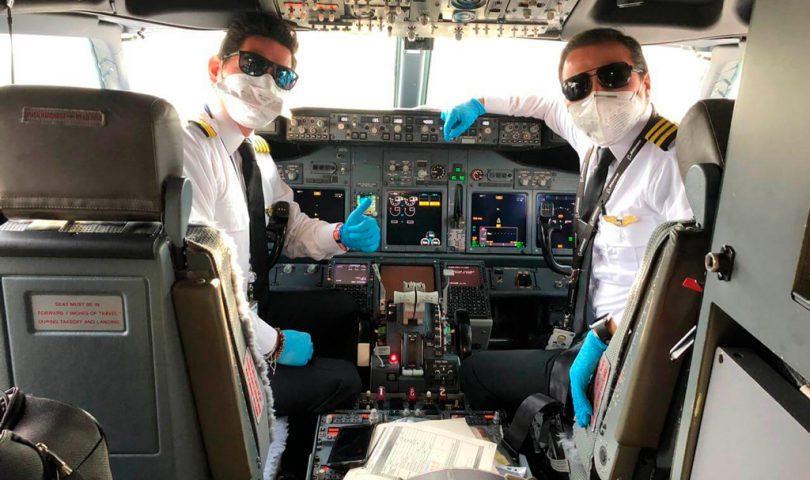 pilotos, copa airlines, covid19