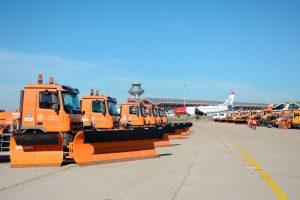 Barajas activa el Plan de Invierno ante la posibilidad de nevadas en Madrid