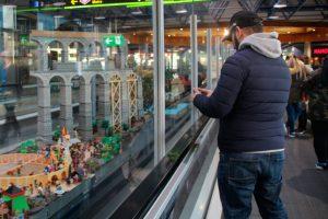 Barajas acoje una exposición de Playmobils durante estas fiestas