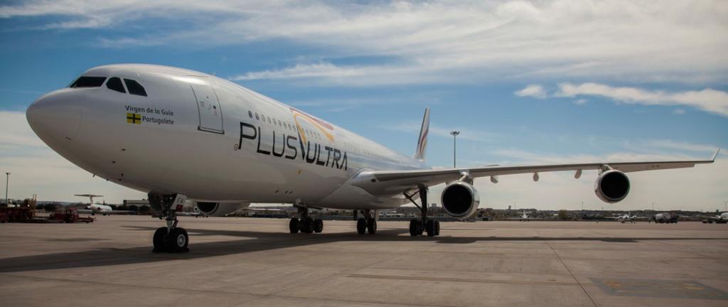 avión, Plus Ultra