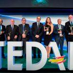 Más de 250 representantes del sector industrial se congregaron en la gala de entrega de los Premios TEDAE 2019