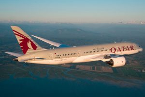 Qatar Airways distinguida por su Qsuite y por su menú