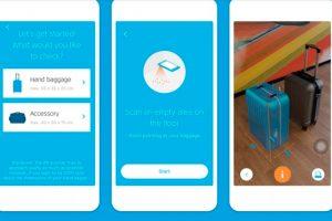KLM lanza la realidad aumentada que permite a los clientes comprobar el equipaje de mano