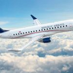 Embraer y Republic Airways cierran un pedido por 100 E175
