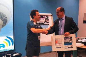 Ritrac y USCA firman un acuerdo de colaboración