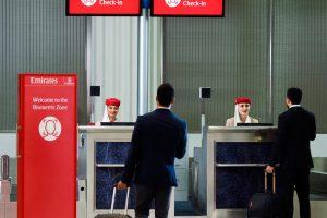 """Emirates presenta su """"ruta biométrica"""""""