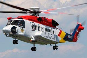 Sikorsky entrega un helicóptero S-92 a la Guardia Costera de Corea del Sur