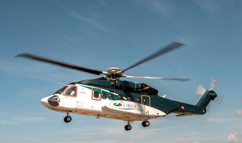 S-92A, Sikorsky, Líder Aviación,