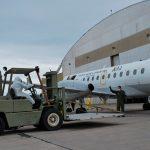 La Fuerza Aérea Argentina realiza tareas de ayuda humanitaria