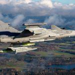 El primer Saab Gripen E de Brasil entra en la segunda etapa del montaje final