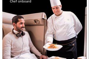 Saudia Airlines te proporciona el menú especial que necesites