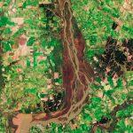 El satélite Sentinel 2B fotografía los humedales del Río Uruguay