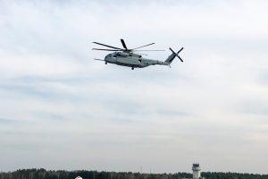 El helicóptero CH-53K de Sikorsky realiza su primer vuelo en Alemania