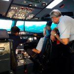 Simloc Research presenta en FIDAE uno de sus simuladores