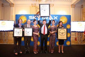 Los premios Skytrax reconocen a Singapore como la mejor aerolínea