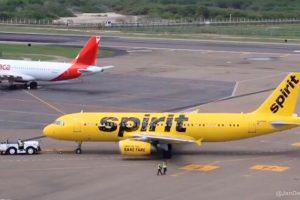 Spirit Airlines inaugura vuelo entre Orlando y Cartagena