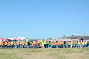 Barajas reúne a 150 spotters en la celebración del 'IX OpenDay MAD'