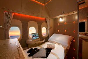 Emirates presentará su nueva Suite privada para First Class en la Arabian Travel Market 2018