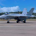 Boeing entrega el primer Super Hornet Blue Angel de prueba